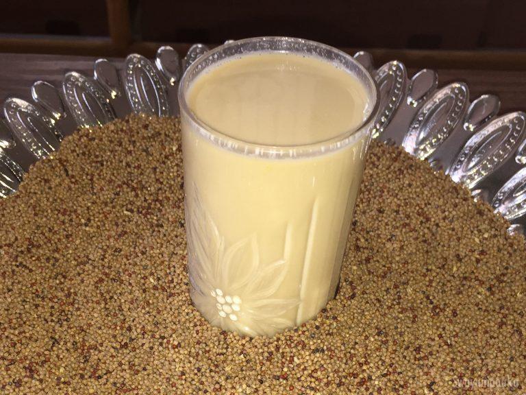 ragi milk